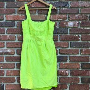 Gianni Binni Bright Green Strappy Dress